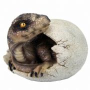 Dinosaur Hatching Dragon Egg T-REX Ornament Statue Figurine Sculpture